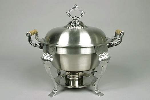 5 Qt. Stainless Chafer - Available in 9 Qt. Round