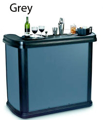 Grey Portable Bar