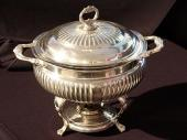 3 Qt. Silver, Also 8 Qt. Round - Available in Silver